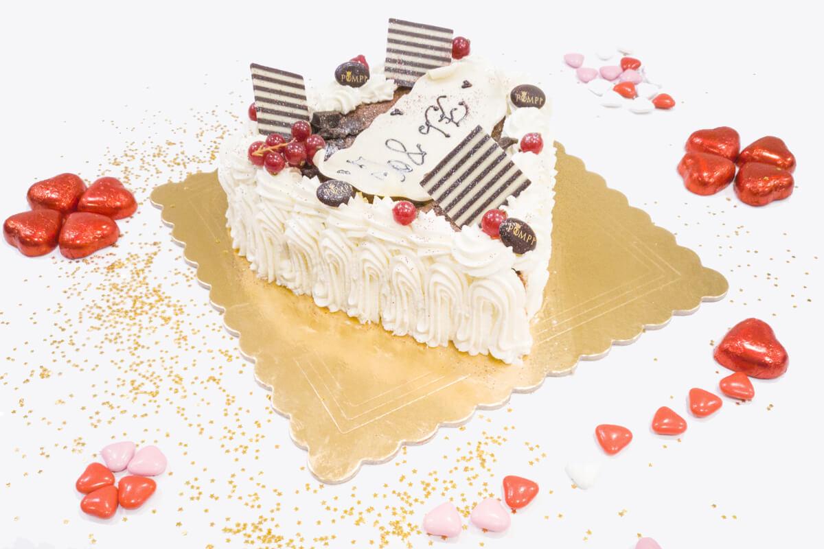 Torta San Valentino gusto classico