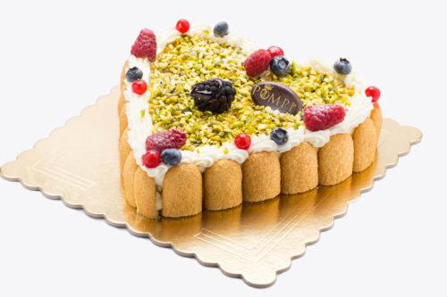 Torta Cuore Tiramisu Pistacchio