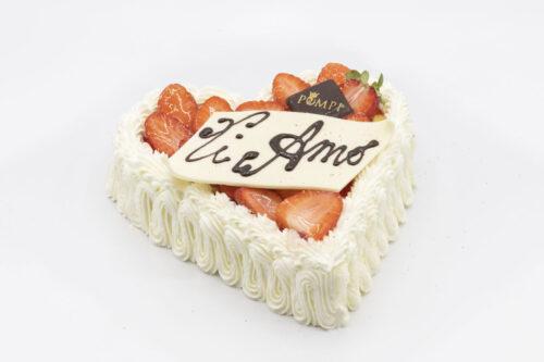 Torta Cuore Tiramisu Fragole