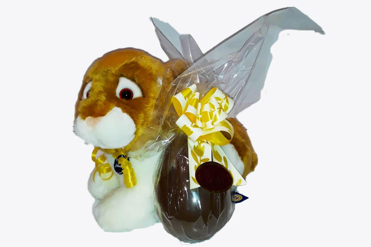 Coniglietto con Uovo di Pasqua