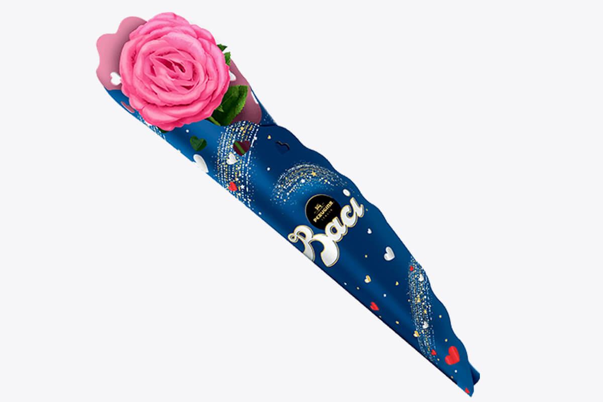 Rosa con Cioccolatini