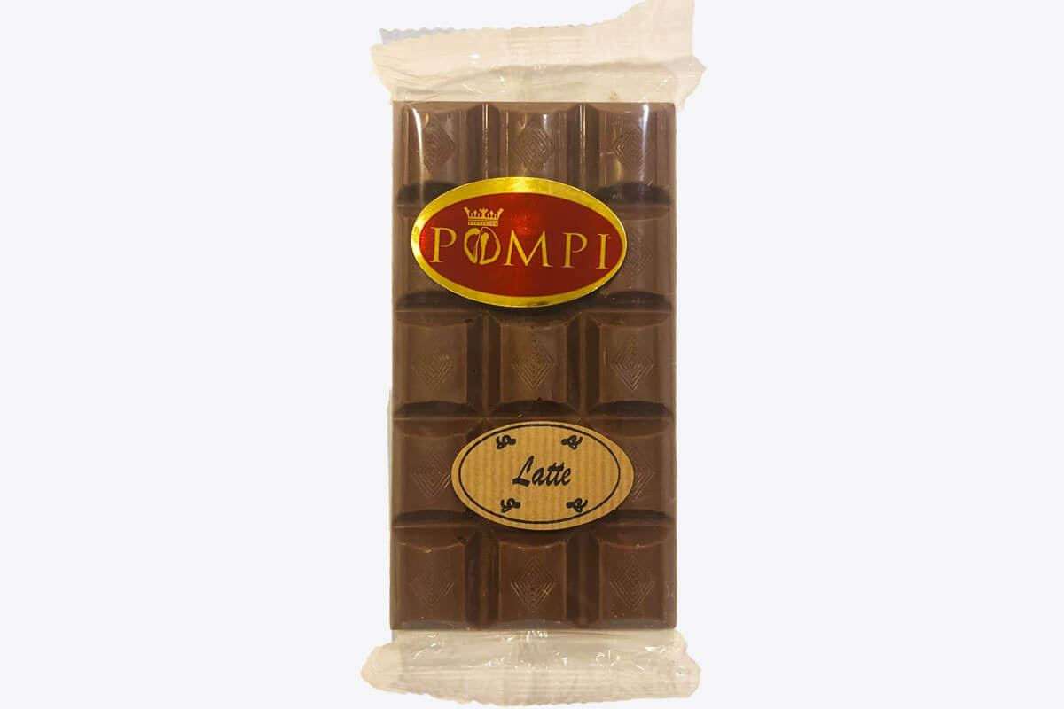 Tavoletta di Cioccolato Pompi