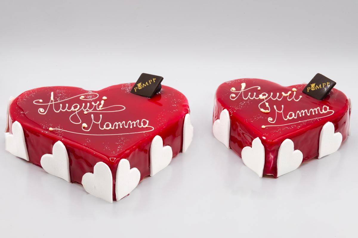 Torta Cuore di Mamma Lampone
