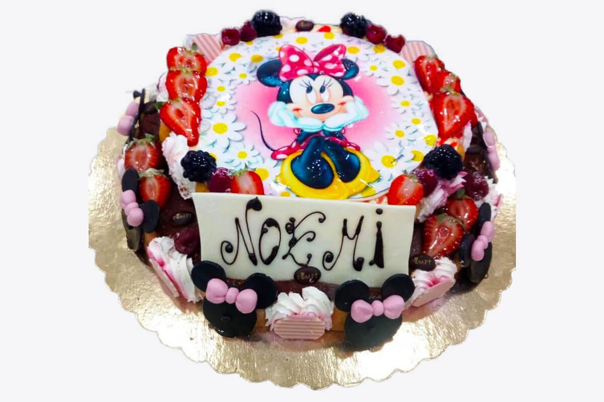 Torta Tiramisu Compleanno Personaggi Disney