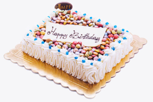 Torta Compleanno Bambini Tiramisu e Smarties