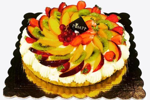 Crostata Crema e Frutta Fresca