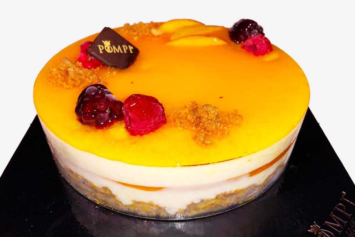 Torta Cheesecake Mango
