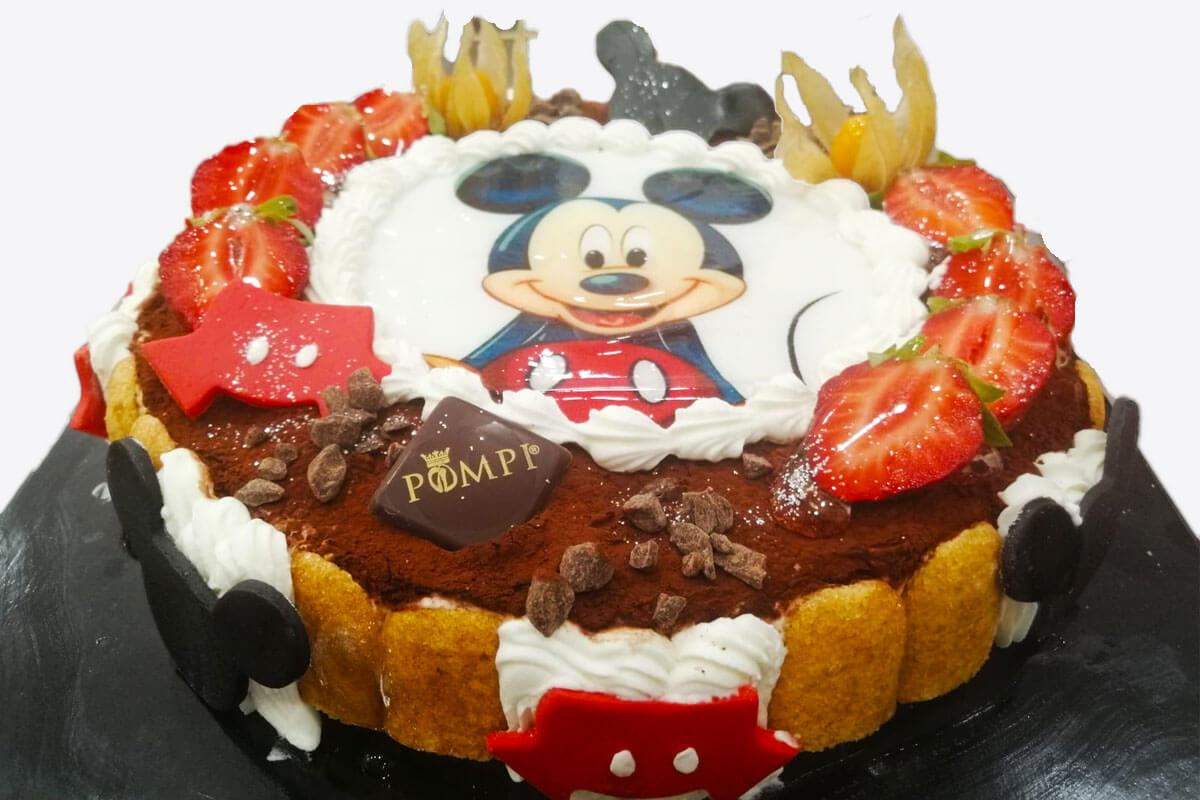 Torta Tiramisu Topolino
