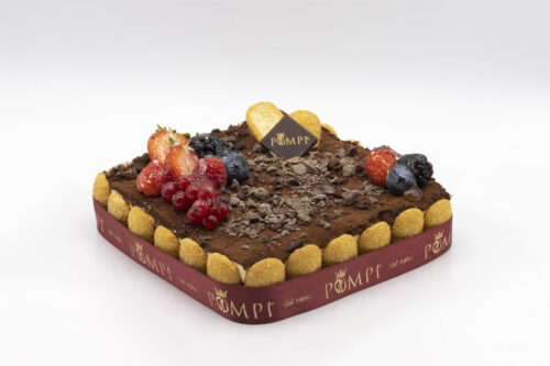 Torta Tiramisu Classico privo di Glutine e Lattosio
