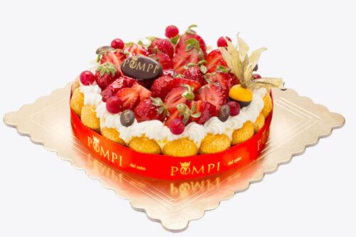 Torta Tiramisu Fragola senza Glutine
