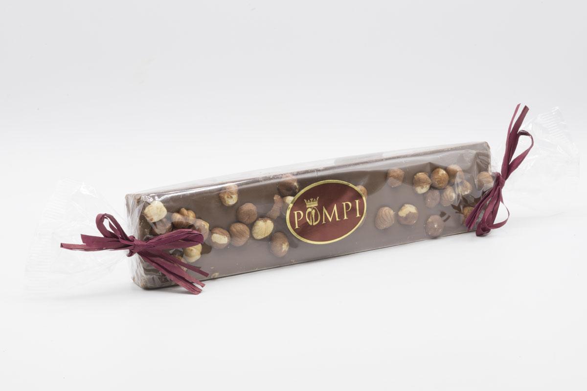 Torrone Cioccolato Gianduia e Nocciole