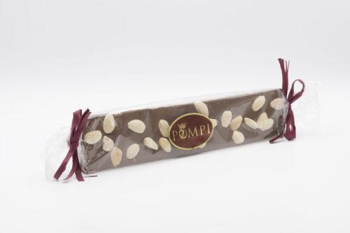 Torrone Cioccolato Gianduia e Mandorle