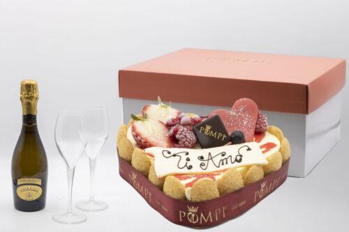 Box San Valentino -Tiramisù Fragola