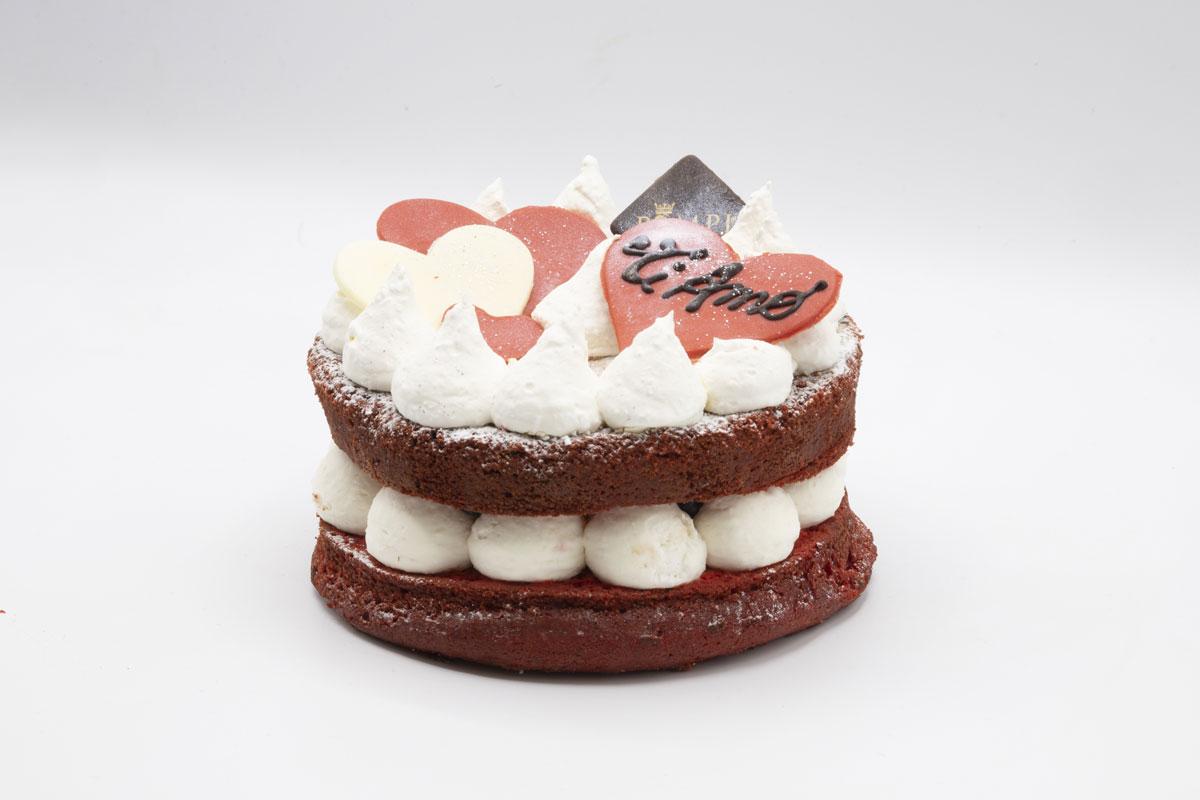 Torta Red Velvet Love