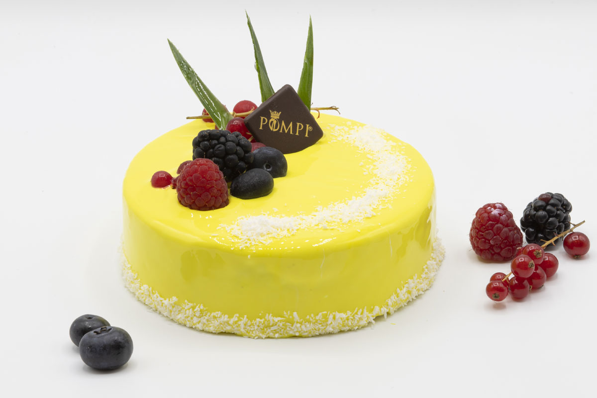 Torta Fior di Cocco e Ananas