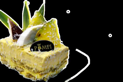 Tiramisu Cocco e Ananas - Monoporzione